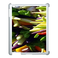 Bright Peppers Apple Ipad 3/4 Case (white) by BangZart