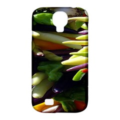 Bright Peppers Samsung Galaxy S4 Classic Hardshell Case (pc+silicone) by BangZart