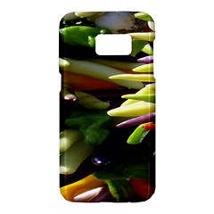 Bright Peppers Samsung Galaxy S7 Hardshell Case