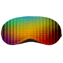 Blurred Color Pixels Sleeping Masks by BangZart