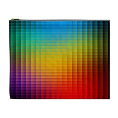 Blurred Color Pixels Cosmetic Bag (xl) by BangZart