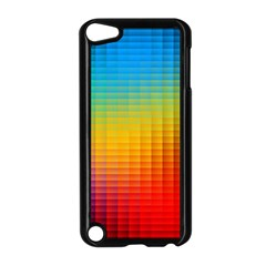 Blurred Color Pixels Apple Ipod Touch 5 Case (black) by BangZart