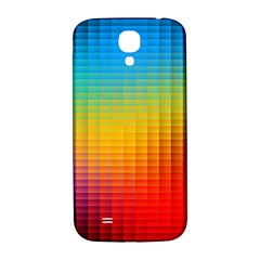 Blurred Color Pixels Samsung Galaxy S4 I9500/i9505  Hardshell Back Case by BangZart