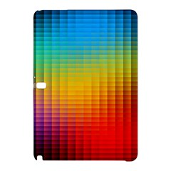 Blurred Color Pixels Samsung Galaxy Tab Pro 12 2 Hardshell Case by BangZart