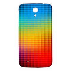 Blurred Color Pixels Samsung Galaxy Mega I9200 Hardshell Back Case by BangZart