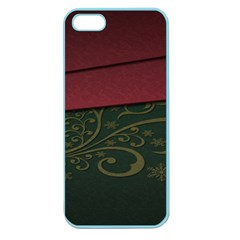 Beautiful Floral Textured Apple Seamless Iphone 5 Case (color) by BangZart