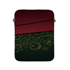 Beautiful Floral Textured Apple Ipad 2/3/4 Protective Soft Cases by BangZart