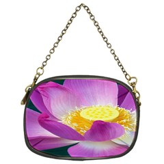 Pink Lotus Flower Chain Purses (two Sides)  by BangZart