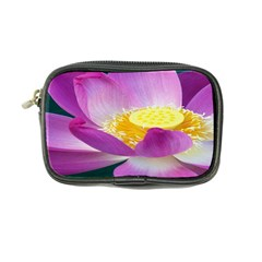 Pink Lotus Flower Coin Purse by BangZart
