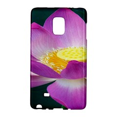 Pink Lotus Flower Galaxy Note Edge by BangZart
