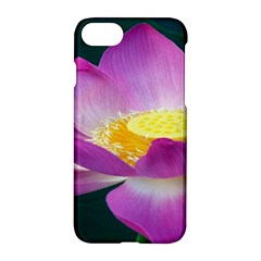 Pink Lotus Flower Apple Iphone 7 Hardshell Case by BangZart