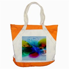 Abstract Color Plants Accent Tote Bag by BangZart