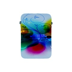 Abstract Color Plants Apple Ipad Mini Protective Soft Cases by BangZart