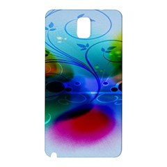 Abstract Color Plants Samsung Galaxy Note 3 N9005 Hardshell Back Case by BangZart