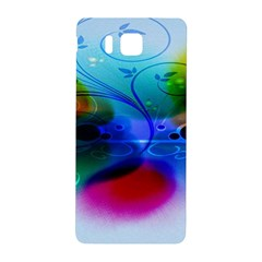Abstract Color Plants Samsung Galaxy Alpha Hardshell Back Case by BangZart