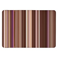 Brown Vertical Stripes Samsung Galaxy Tab 8 9  P7300 Flip Case by BangZart