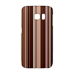 Brown Vertical Stripes Galaxy S6 Edge by BangZart