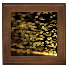 Blurry Sparks Framed Tiles by BangZart