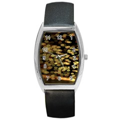 Blurry Sparks Barrel Style Metal Watch by BangZart