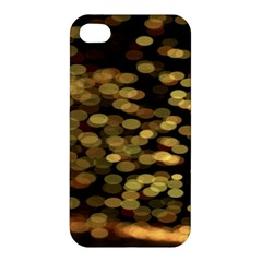 Blurry Sparks Apple Iphone 4/4s Premium Hardshell Case by BangZart