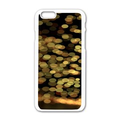 Blurry Sparks Apple Iphone 6/6s White Enamel Case