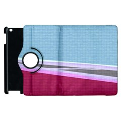 Cracked Tile Apple Ipad 3/4 Flip 360 Case by BangZart
