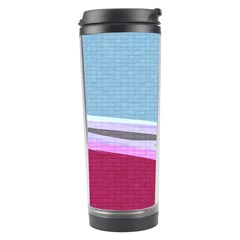 Cracked Tile Travel Tumbler by BangZart