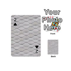 Roof Texture Playing Cards 54 (mini)  by BangZart