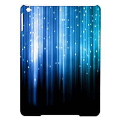 Blue Abstract Vectical Lines Ipad Air Hardshell Cases by BangZart