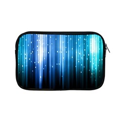 Blue Abstract Vectical Lines Apple Macbook Pro 13  Zipper Case by BangZart