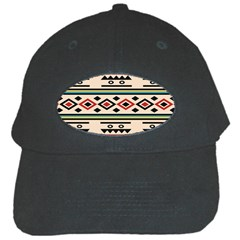 Tribal Pattern Black Cap by BangZart