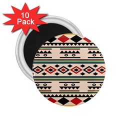Tribal Pattern 2 25  Magnets (10 Pack)  by BangZart