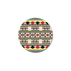 Tribal Pattern Golf Ball Marker (4 Pack) by BangZart