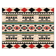 Tribal Pattern Rectangular Jigsaw Puzzl by BangZart