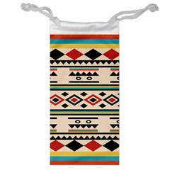 Tribal Pattern Jewelry Bag