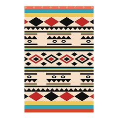 Tribal Pattern Shower Curtain 48  X 72  (small)  by BangZart