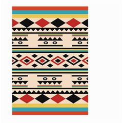 Tribal Pattern Large Garden Flag (two Sides) by BangZart