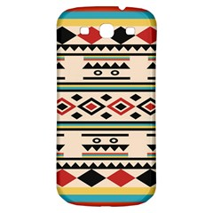 Tribal Pattern Samsung Galaxy S3 S Iii Classic Hardshell Back Case by BangZart