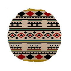 Tribal Pattern Standard 15  Premium Round Cushions by BangZart