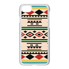 Tribal Pattern Apple Iphone 7 Seamless Case (white) by BangZart