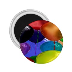 Colorful Balloons Render 2 25  Magnets by BangZart