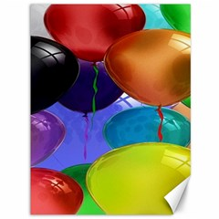 Colorful Balloons Render Canvas 36  X 48   by BangZart