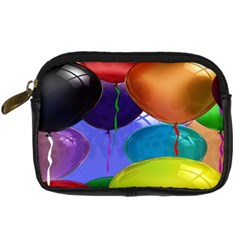 Colorful Balloons Render Digital Camera Cases by BangZart