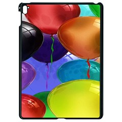 Colorful Balloons Render Apple Ipad Pro 9 7   Black Seamless Case by BangZart