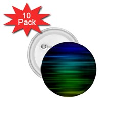 Blue And Green Lines 1 75  Buttons (10 Pack) by BangZart