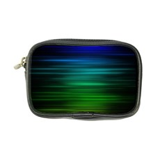 Blue And Green Lines Coin Purse