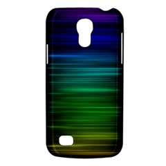 Blue And Green Lines Galaxy S4 Mini by BangZart