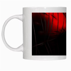Spider Webs White Mugs by BangZart