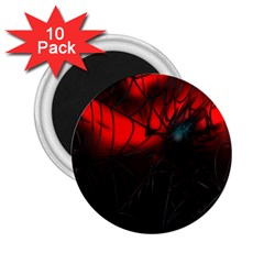 Spider Webs 2 25  Magnets (10 Pack)  by BangZart