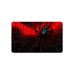 Spider Webs Magnet (name Card) by BangZart